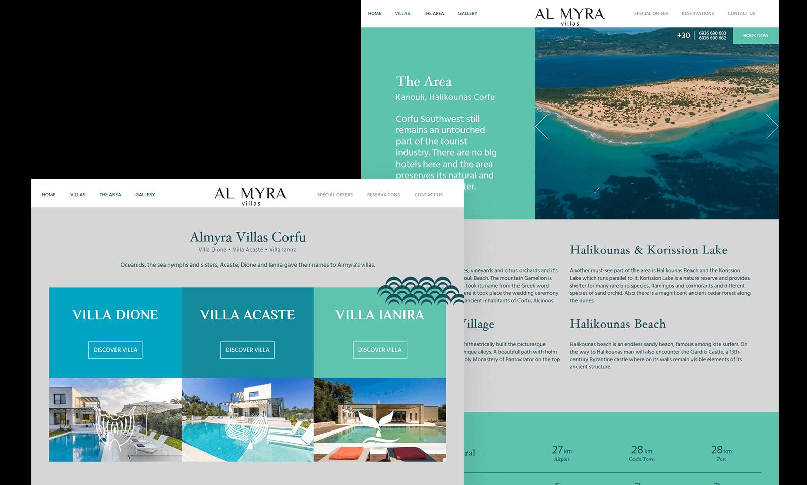 almyra villas hero image