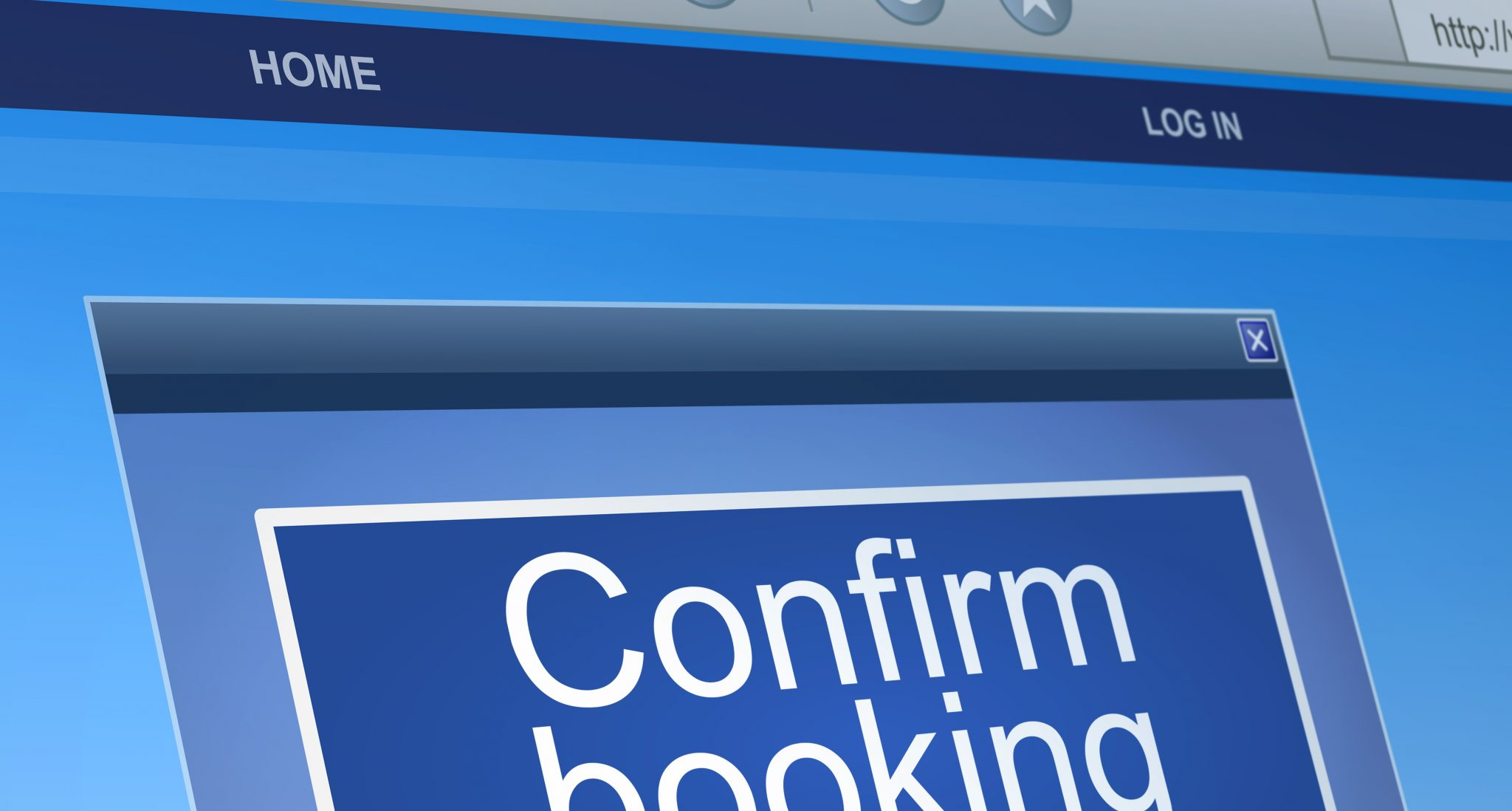 Hotel booking confirmation